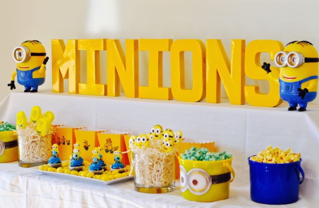 Festa Tema Minions