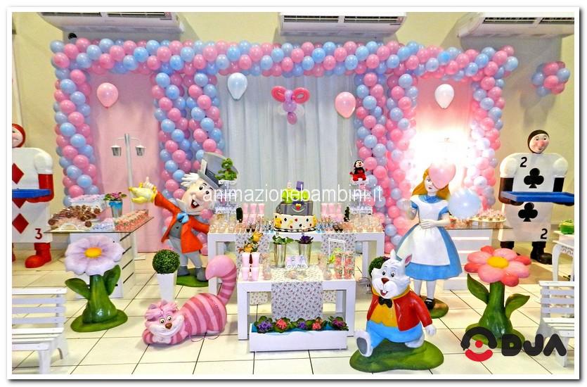 Super Festa tema Alice nel paese delle meraviglie: giochi, costumi e musica JL69