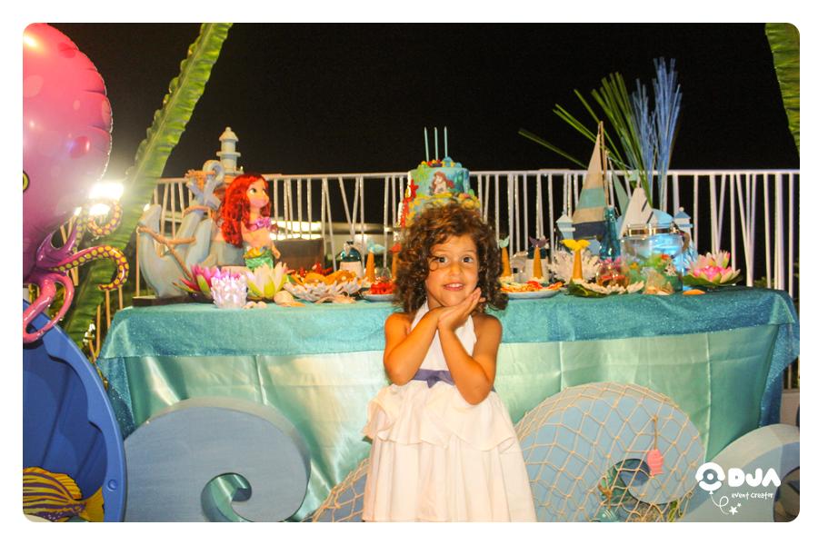 festa tema sirenetta ariel