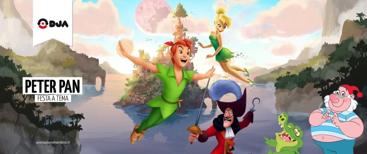 Matrimonio Tema Peter Pan : Festa tema peter pan capitan uncino e trilly