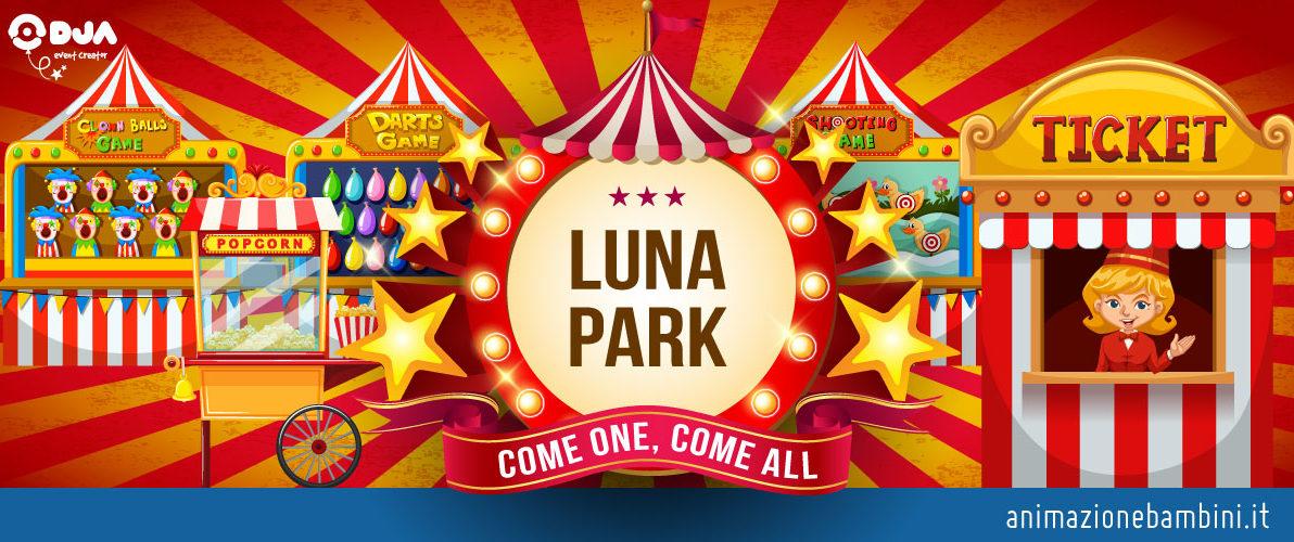 festa tema luna park