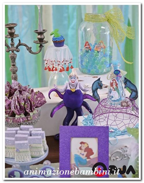 Matrimonio Tema Sirenetta : Festa a tema sirenetta
