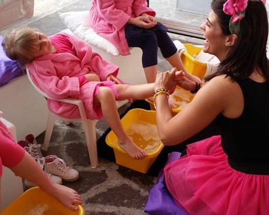 festa bambini tema vanity