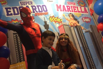 wonderwoman-spiderman-kids-party