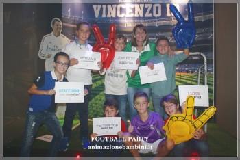 football party ronaldo real madrid