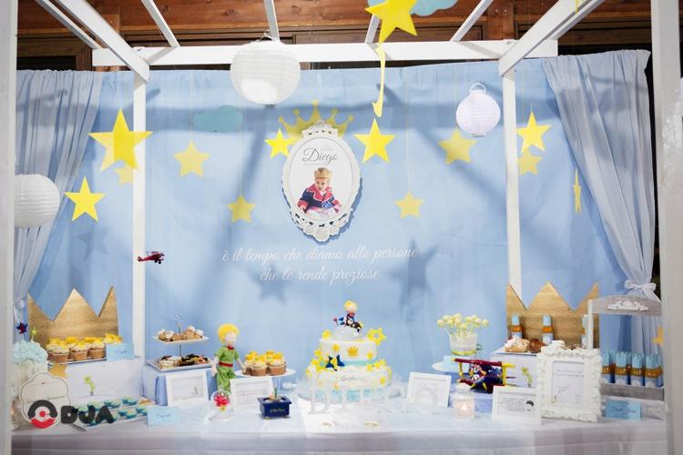 Matrimonio Tema Piccolo Principe : Sweet table per feste a tema comunione battesimo ed
