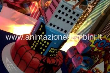 festa tema avengers spiderman ironman