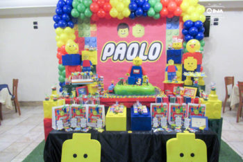 compleanno tema lego