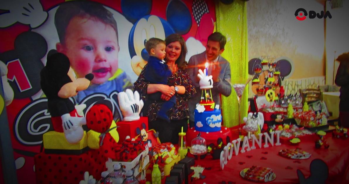 Primo Compleanno Topolino, il tema più amato dei bambini