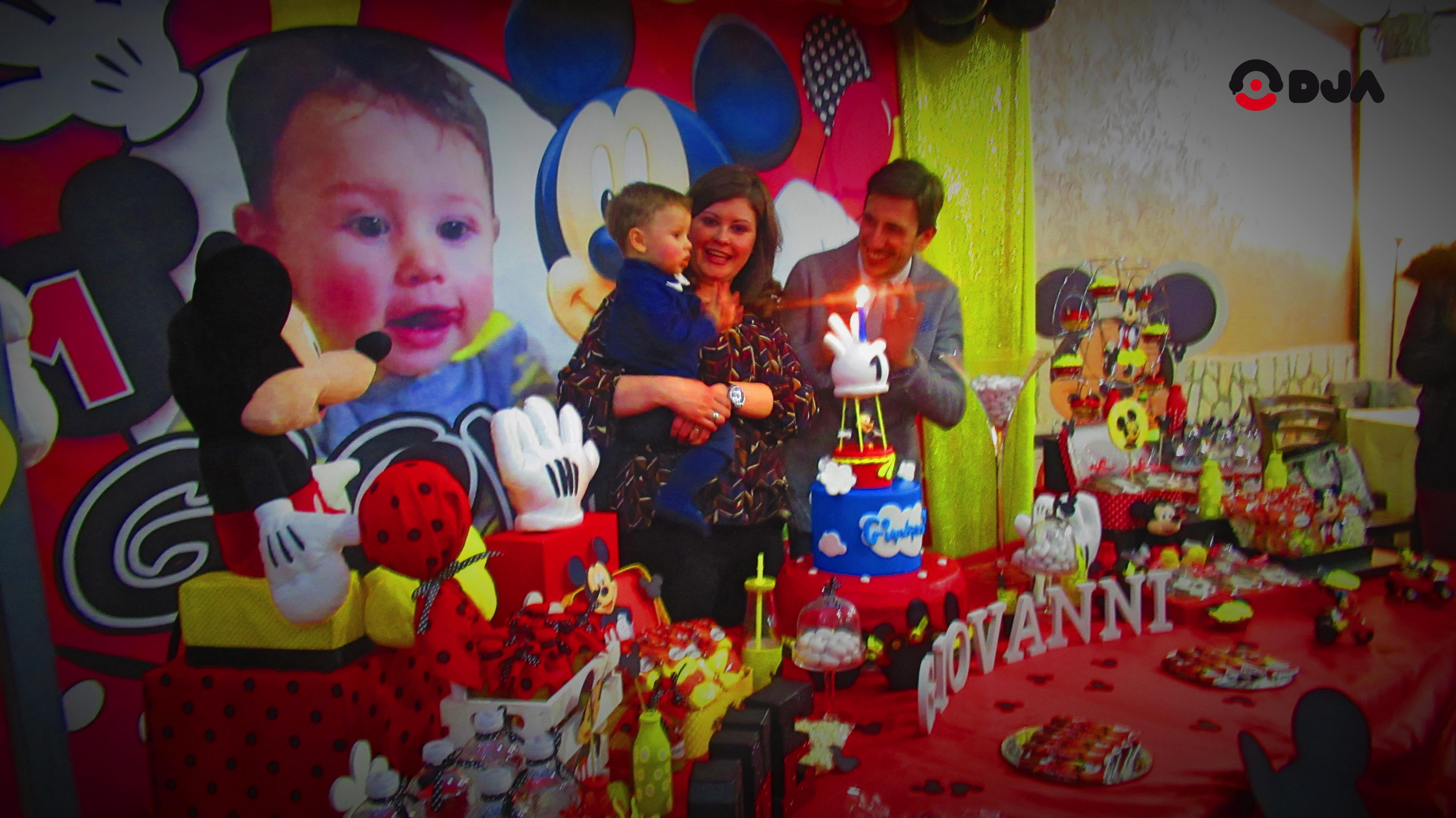 Primo Compleanno Topolino Il Tema Più Amato Dei Bambini