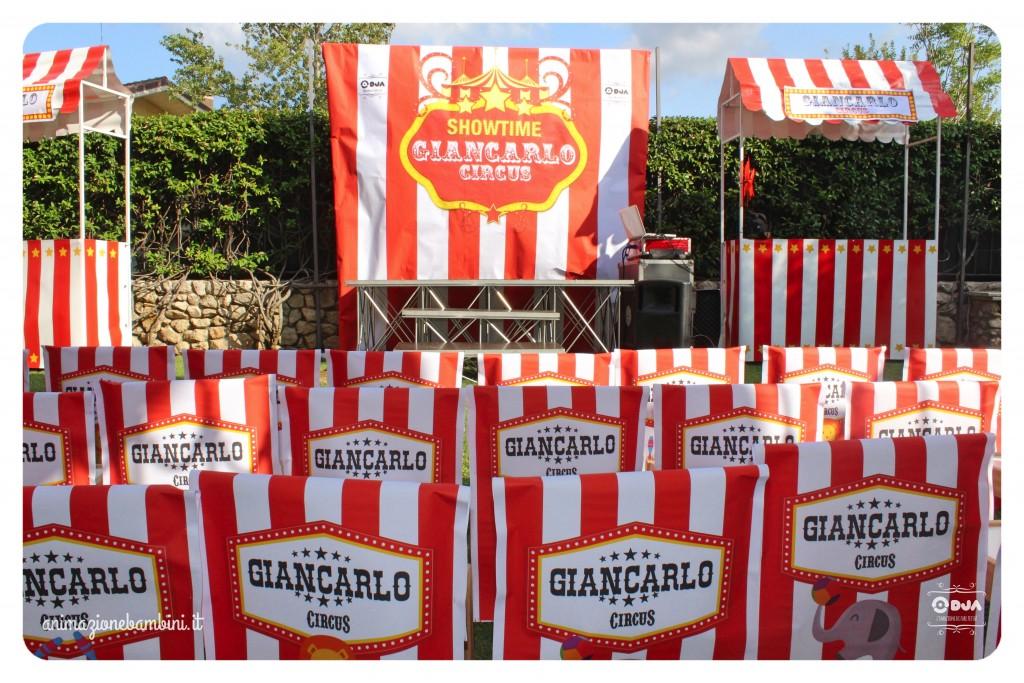 festa tema circo