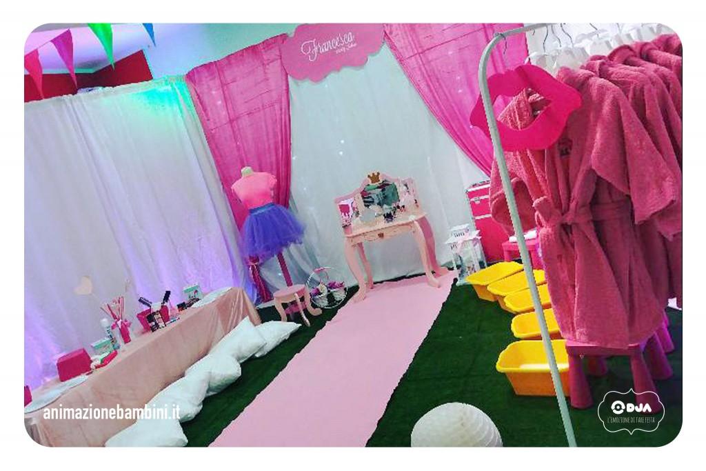 festa tema vanity spa