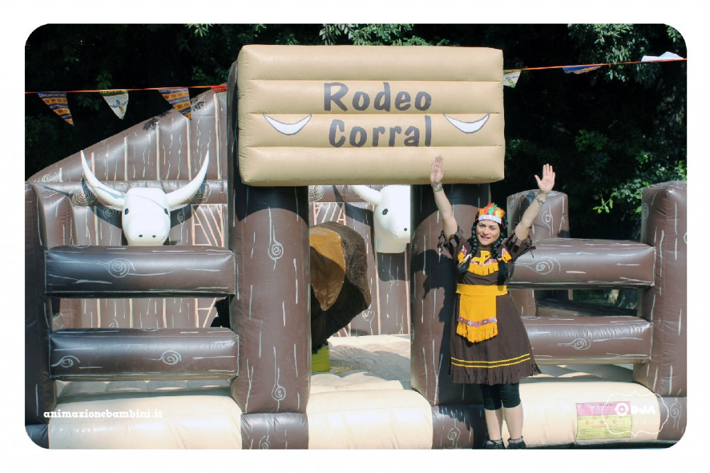 festa tema western rodeo