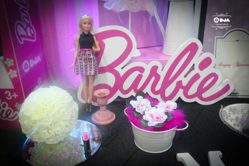 compleanno tema barbie napoli