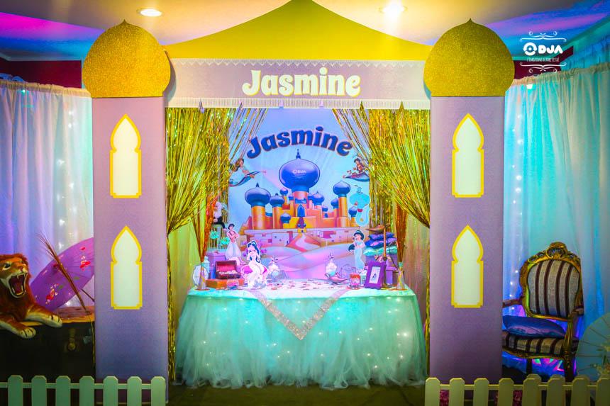compleanno bambini tema jasmine