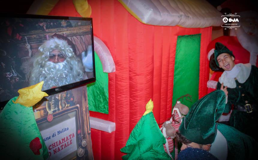Videochiamata Babbo Natale.Videochiamata Babbo Natale 1