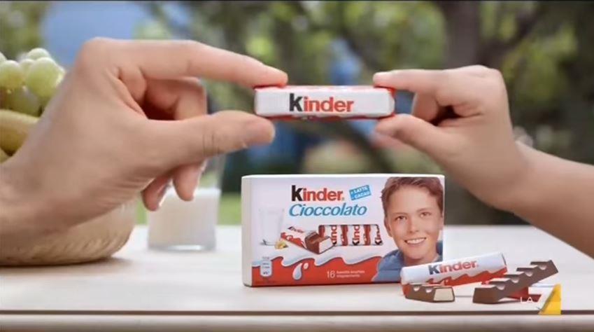 il bambino della kinder