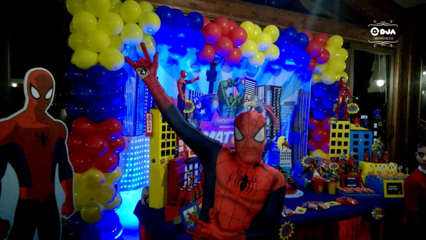 Compleanno Tema Avengers