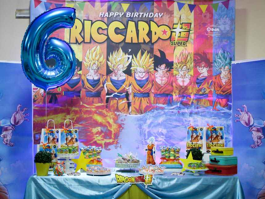 Compleanno tema Dragon Ball Super 7