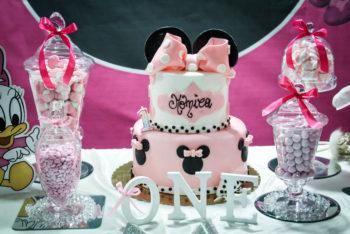 Primo Compleanno Monica tema Minnie