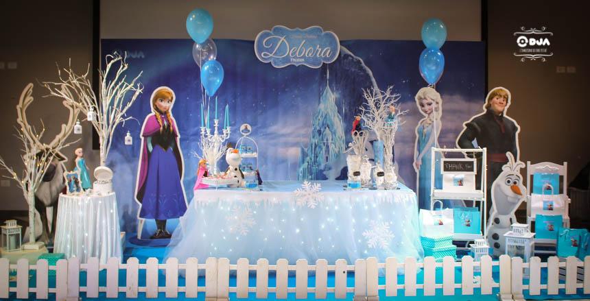 Compleanno di Debora a tema Frozen