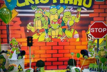 festa compleanno tema tartarughe ninja