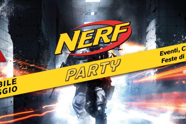 nerf party festa