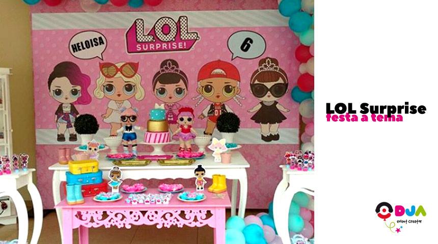 lol surprise festa compleanno tema