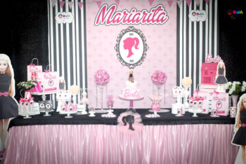 compleanno tema barbie