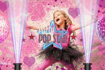 compleanno festa tema pop star