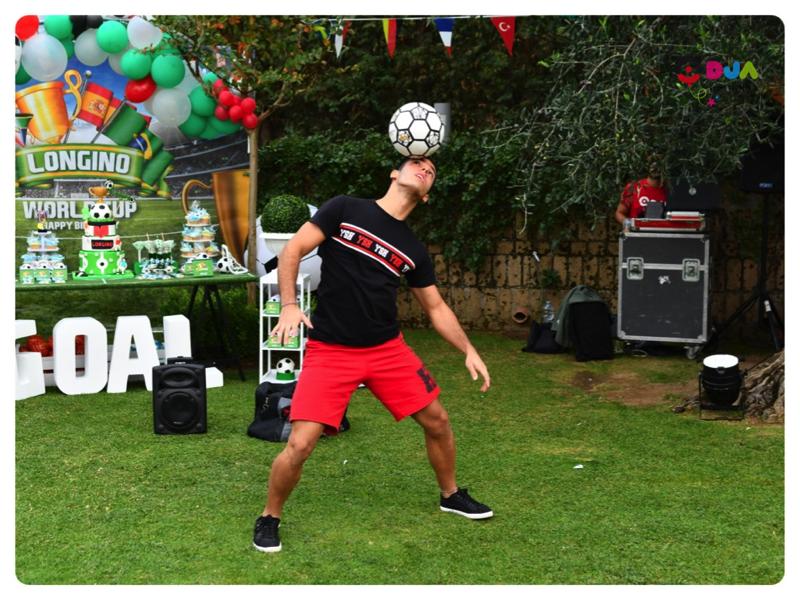 festa tema world cup calcio free style