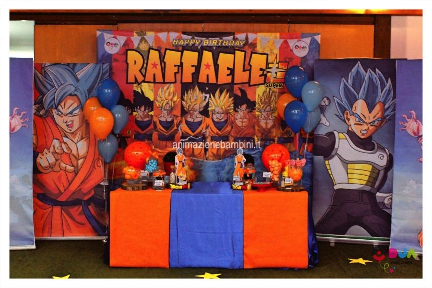 Compleanno Tema Dragon Ball per Raffaele