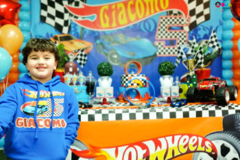 compleanno tema hot wheels