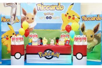 festa tema pokemon