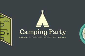 festa tema camping party